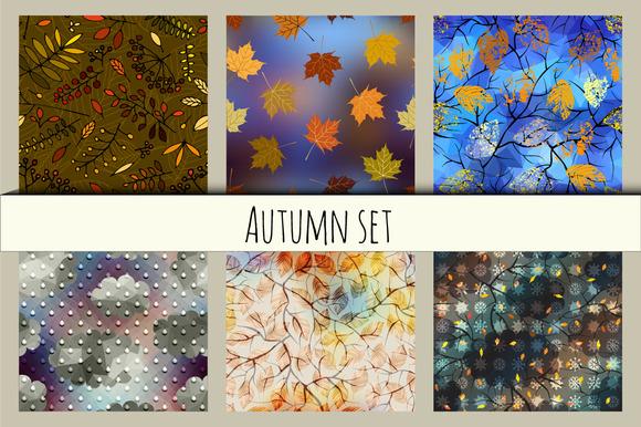 Autumn Patterns Set