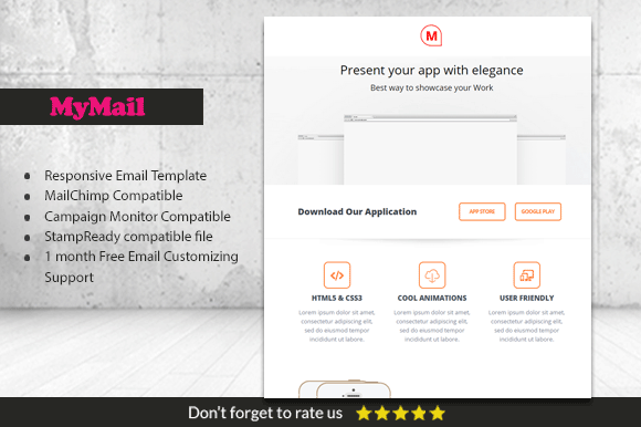 MyMailer Responsive Business Email