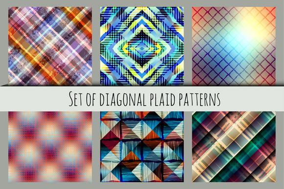 Diagonal Plaid Patterns