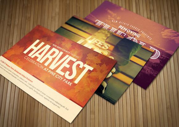 Celebrate Church Postcard Bundle