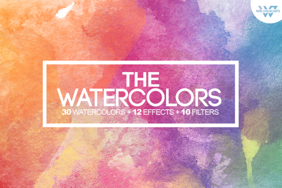 50%OFF WATERCOLOR Textures Bonus