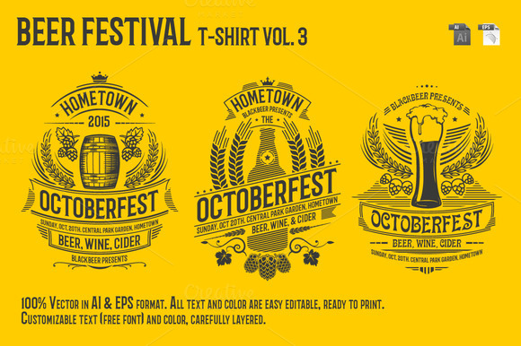 Beer Festival T-Shirt Vol 3