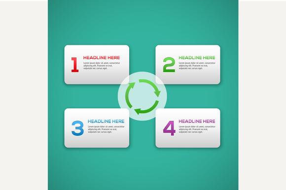 Infographics Process Template