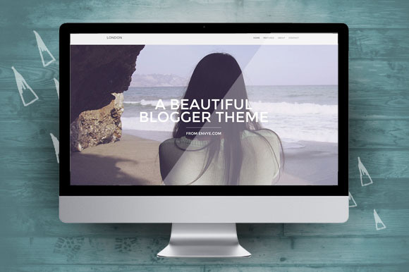 London Responsive Blogger Theme