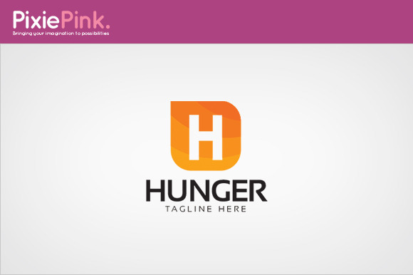 Hunger Logo Template