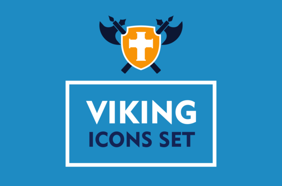 Viking Icons Set