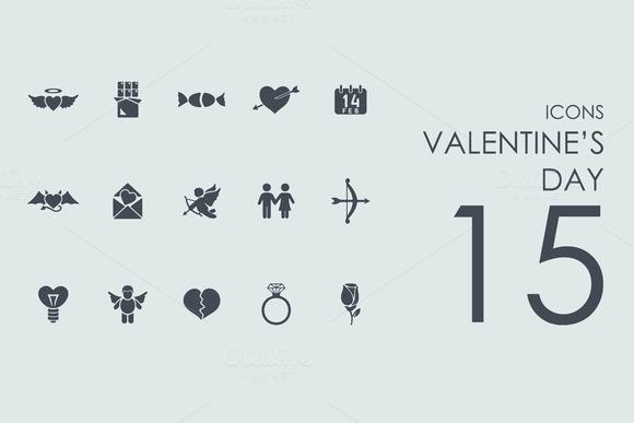 15 Valentine S Day Icons