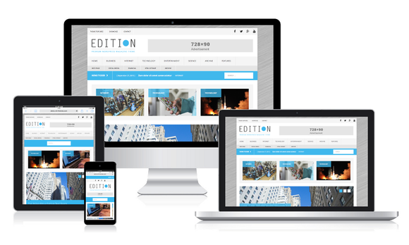 MH Edition WordPress Theme