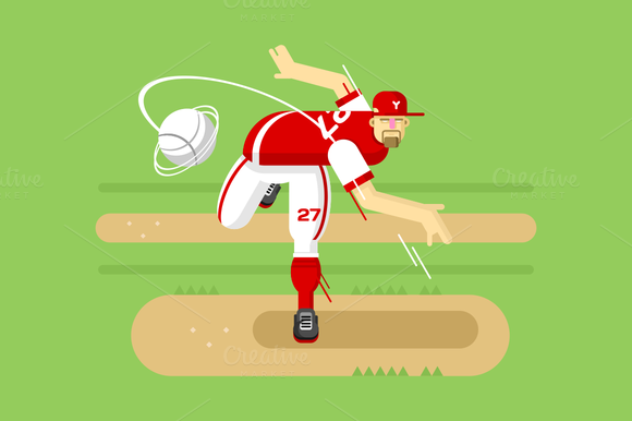 Baseball Player Character