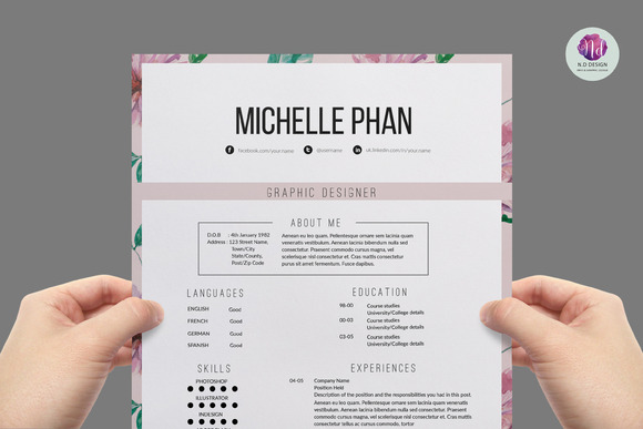 Examples of 2 page resumes