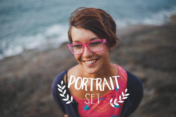 20 Portrait Lightroom ACR Presets