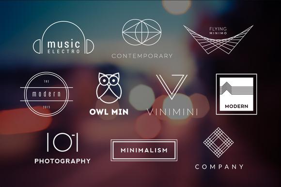 10 Minimalistic Logos Vol 7