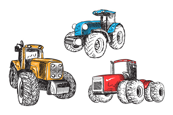 Industrial Transport Tractor