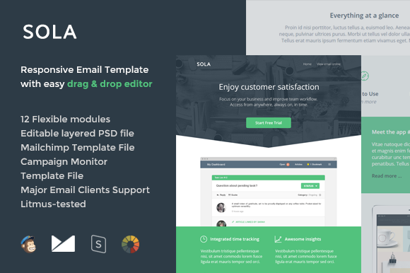 Sola Email Template Builder