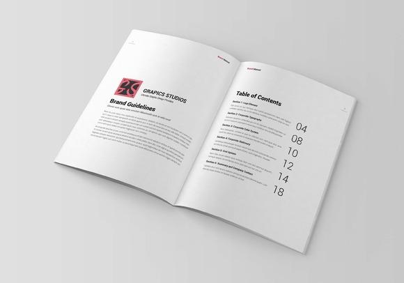 Brand Manual Template Vol 2