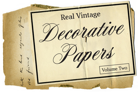 Real Vintage Decorative Papers Vol 2