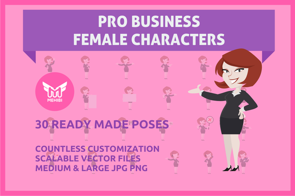 Professional Female Character