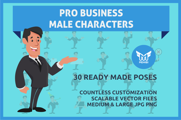 Professional Male Character