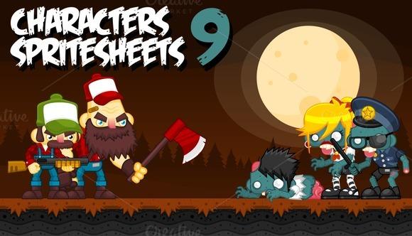 Characters Spritesheets 9