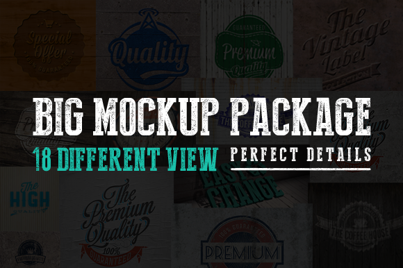 Big Mockup Package