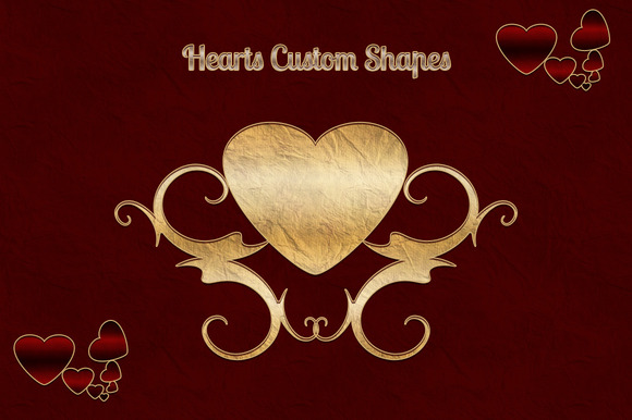 Heart Custom Shapes
