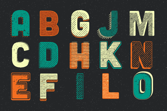 Woodcut Lettering Generator