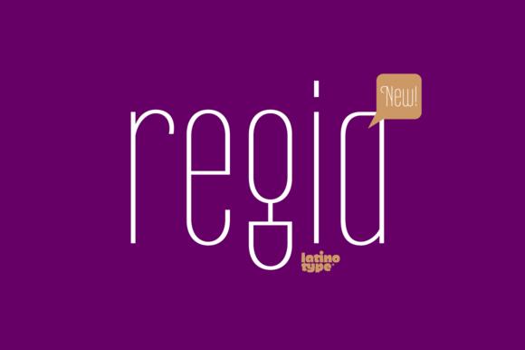 Regia Sans Pro 50% OFF
