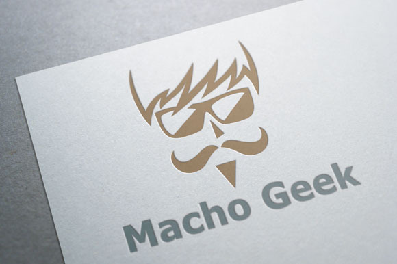 Macho Geek Logo