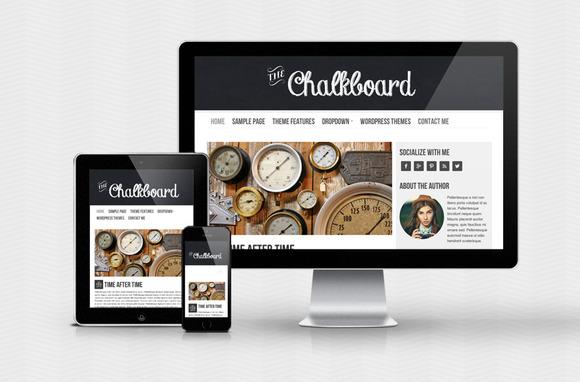 Chalkboard WordPress Theme