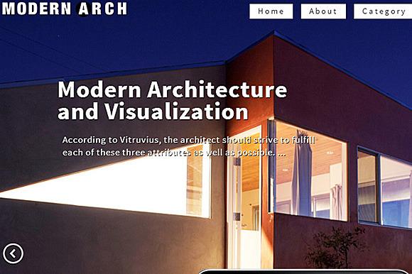 Modern Architecture Responsive Theme