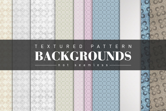 Textured Pattern Backgrounds