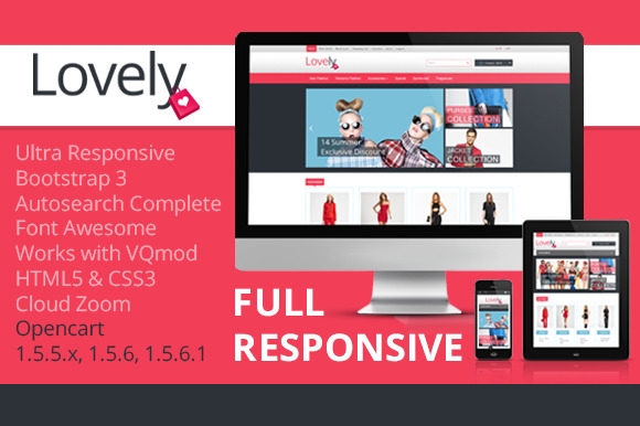 Lovely Responsive Bootstrap Theme