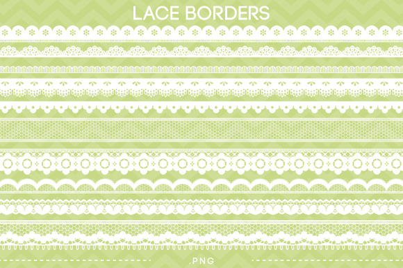 10 Lace Borders II