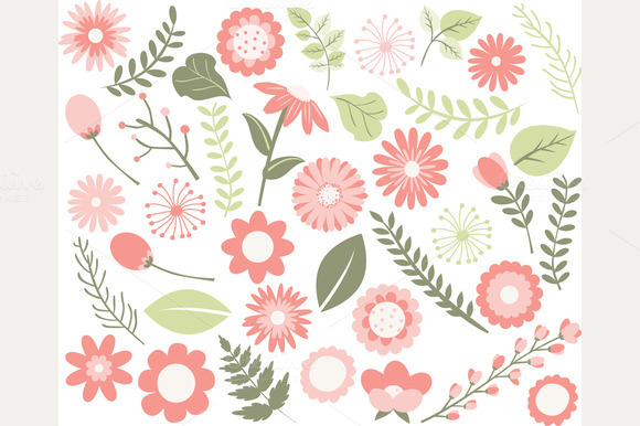 Flower Foliage Collection