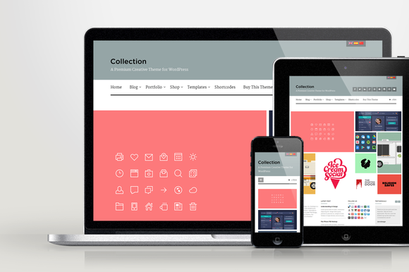 WP Collection Responsive Folio Theme
