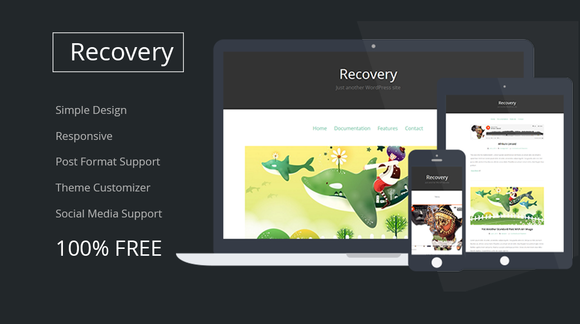 Recovery Responsive Blog Theme