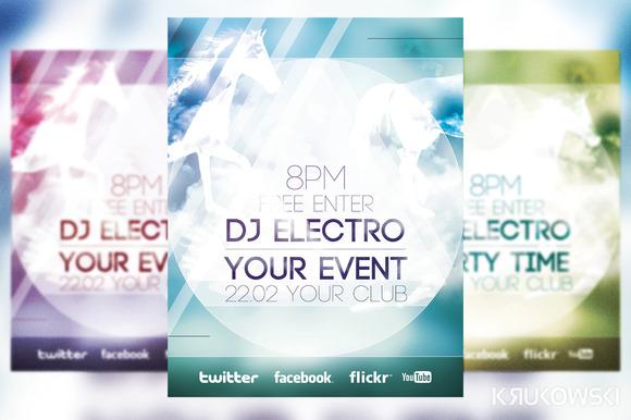 Minimalist Event Flyer