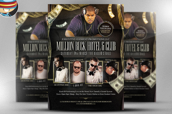 Million Buck Flyer Template