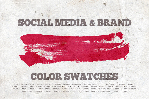 Social Media Brand Swatches