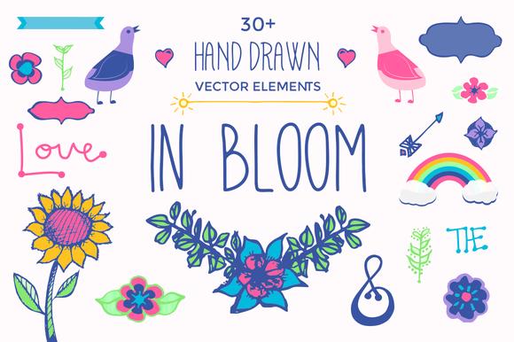 In Bloom Vector Pack