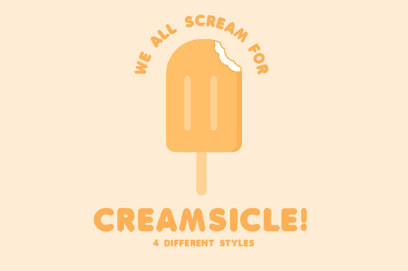Creamsicle 4 Styles
