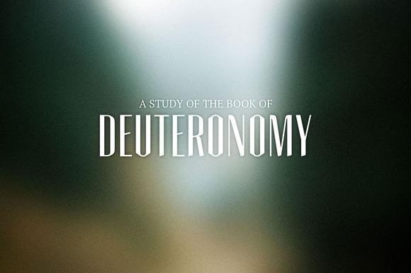 Deuteronomy Sermon Title
