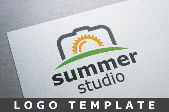 Camera Sun Logo