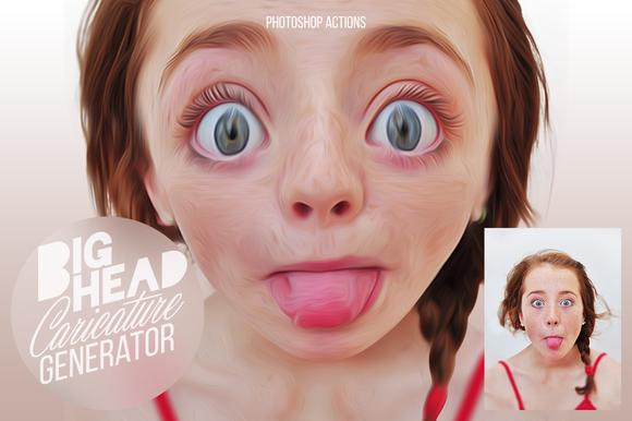 BIGHEAD Caricature Generator