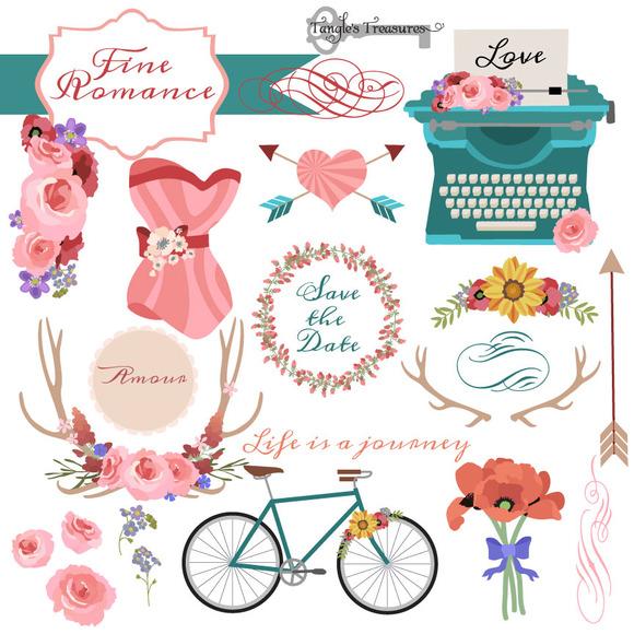 Romantic Clipart And Vectors