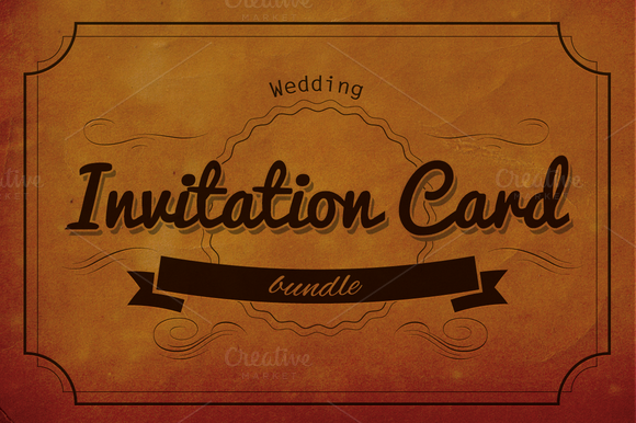 Wedding Invitation Cards Bundle