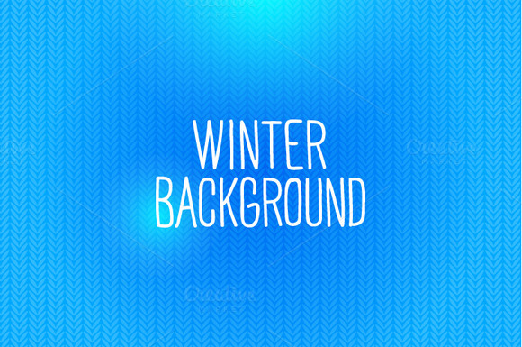 Winter Knitted Background