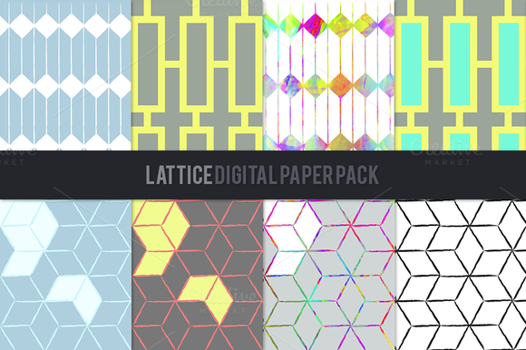 Lattice Digital Paper Pack