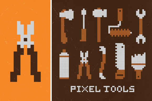 Pixel Workshop Tools Set
