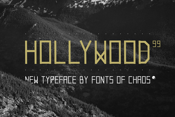 Hollywood 99 Font